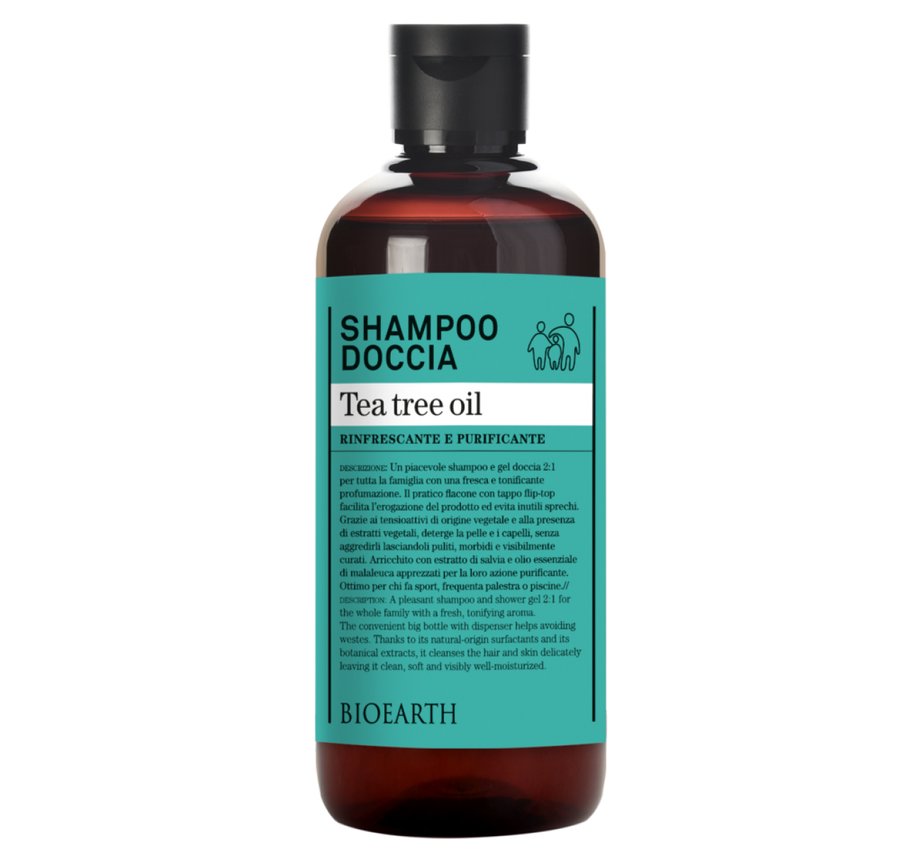 Shampoo Doccia Tea Tree oil 500ml