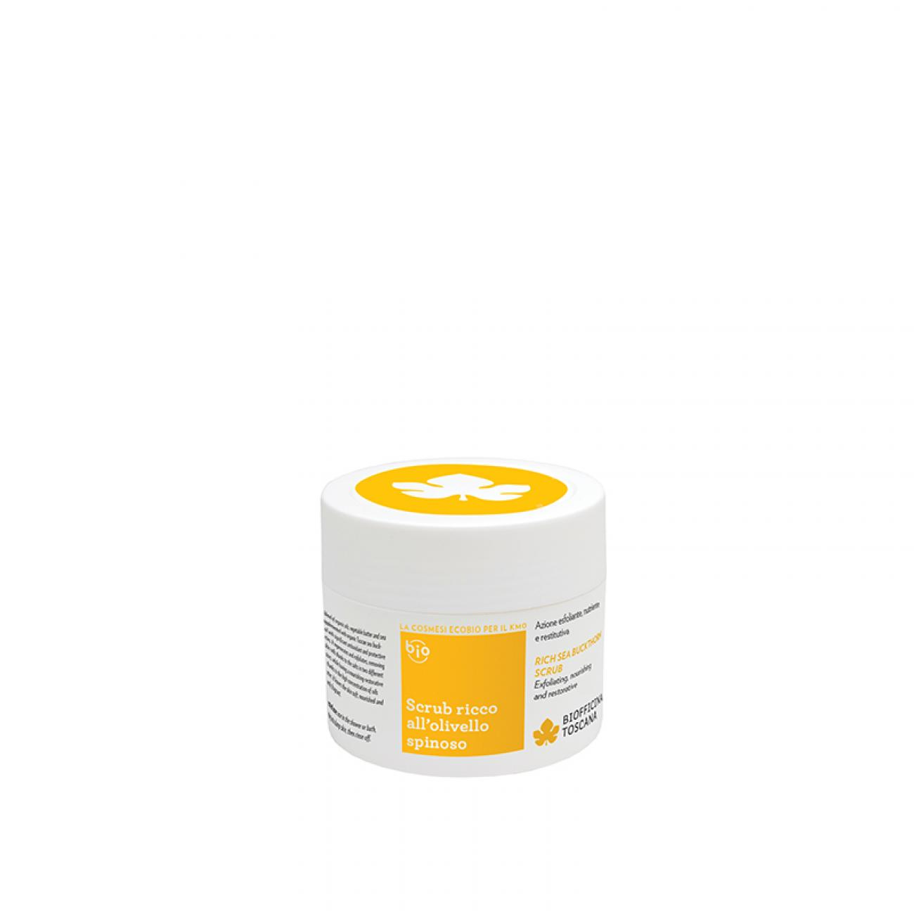 Scrub ricco all'olivello spinoso 150gr