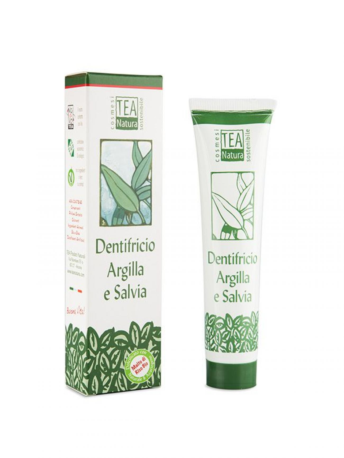 Dentifricio argilla-salvia 75ml
