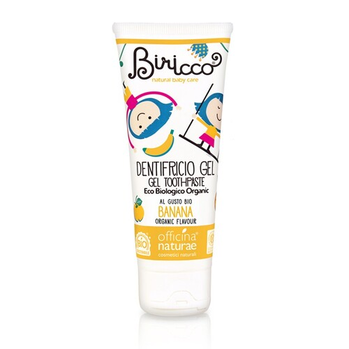 DENTIFRICIO BANANA BIRICCO 75ML
